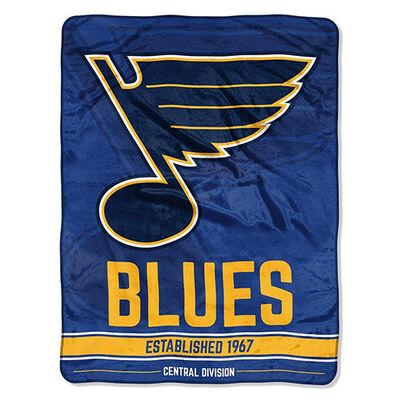 Northwest Co St. Louis Blues Micro Raschel Throw Blanket