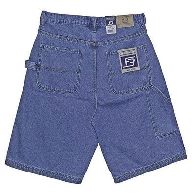 Full Blue Men's Denim Carpenter Shorts