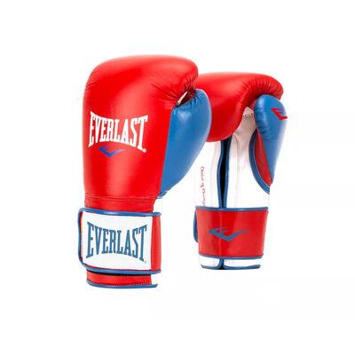 Everlast 16 Ounce Powerlock Hook & Loop Training Kickboxing Boxing Bag Gloves