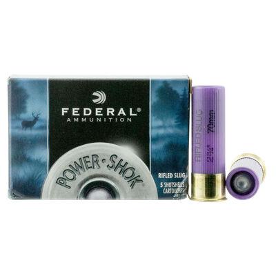 Federal 16GA Power-Shok Slug Ammunition