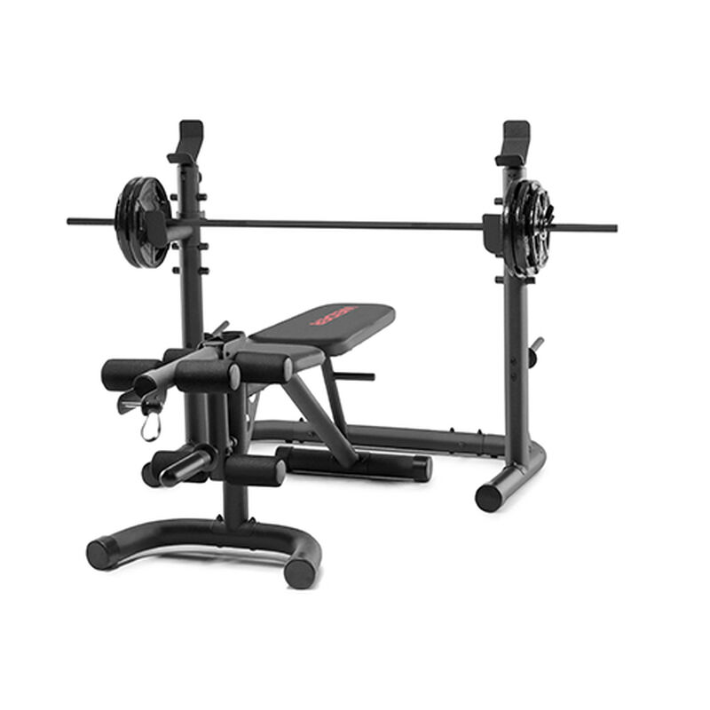 XRS 20 Olympic Bench with Squat Rack and Preacher Pad, , large image number 0