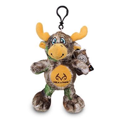 "Nkok 5"" Realtree Moose Clip-On Stuffed Backpack Charm"
