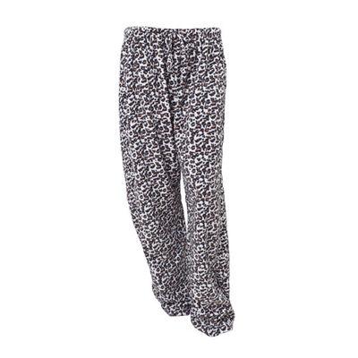 Canyon Creek Women's Cheetah Print Loungewear Pants
