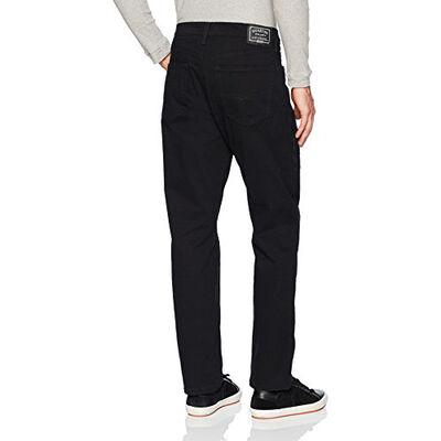Men's Athletic Fit Raven Black Jeans, , large
