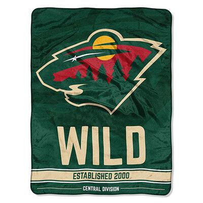Northwest Co Minnesota Wild Micro Raschel Throw Blanket