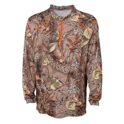 World Famous Men's Long Sleece 1/4 Zip Shirt
