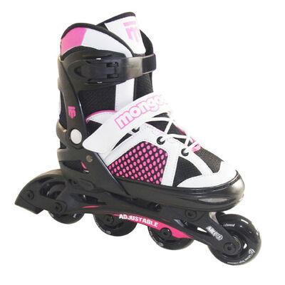 Mongoose Girls' Adjustable Inline Skates