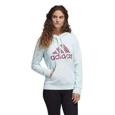adidas Women's Badge of Sport Polka Dot Hoodie