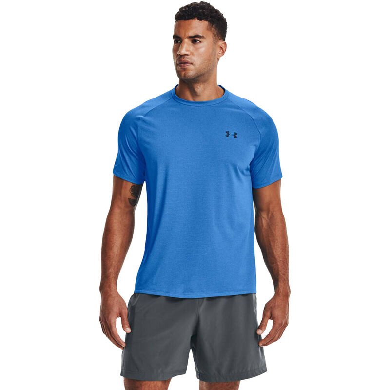 Men's Tech Short Sleeve Tee, Blue, large image number 0