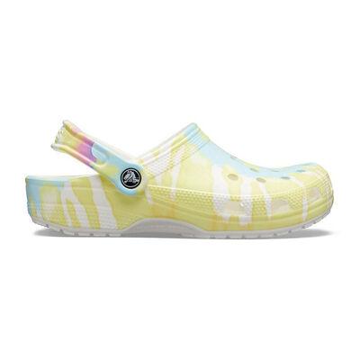 Crocs Women's Classic Tie-Dye Graphic Clogs