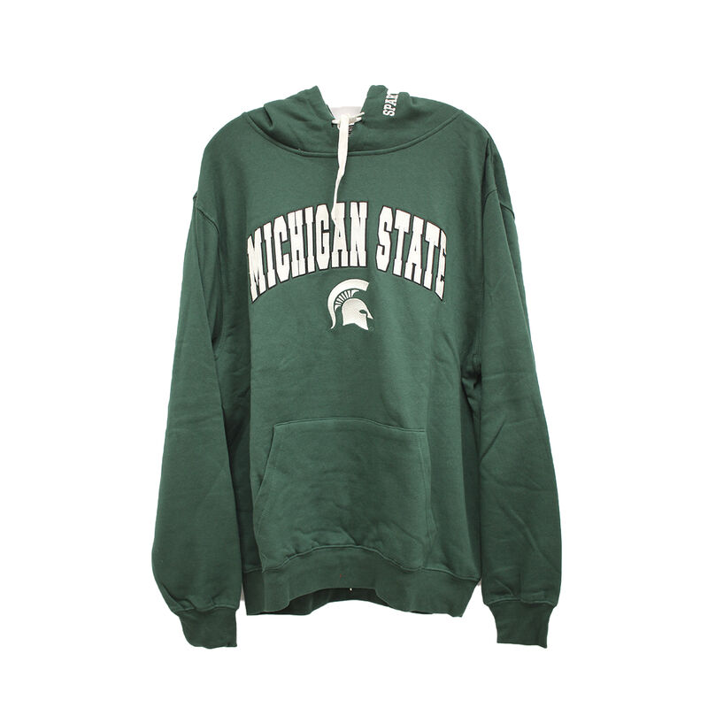 Men's Michigan State Tackle Twill Hoodie, Team, large image number 0