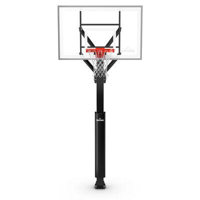 "Spalding Glass 60"" In-Ground Basketball Hoop"