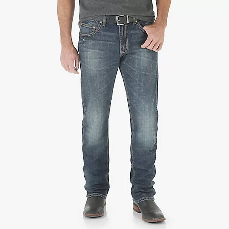 Men's Retro Slim Straight Jeans, , large image number 0