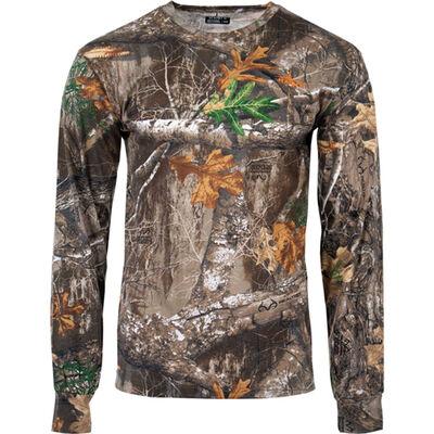 Habit Men's Long Sleeve Realtree Tee Shirt
