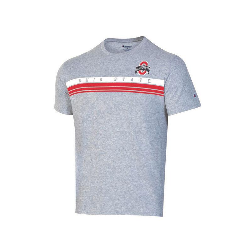 Ohio State Lined Short Sleeve Tee, , large image number 1