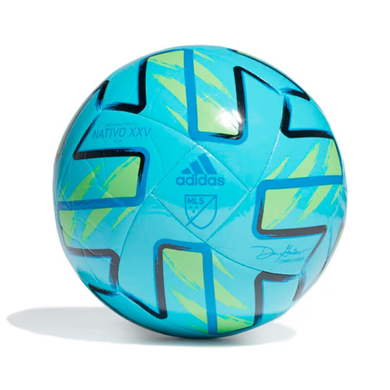MLS Nativo XXV Club Soccer Ball, Bright Drk.Blue, large image number 0