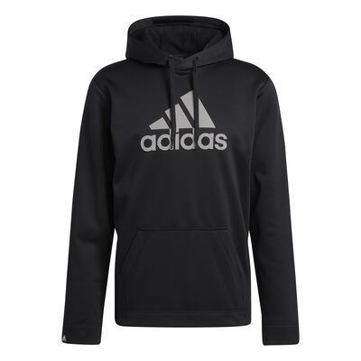 Men's Game and Go Pullover Hoodie, Black, large