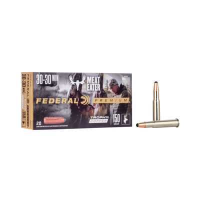 Federal .30-30 Trophy Copper 150GR Ammunition