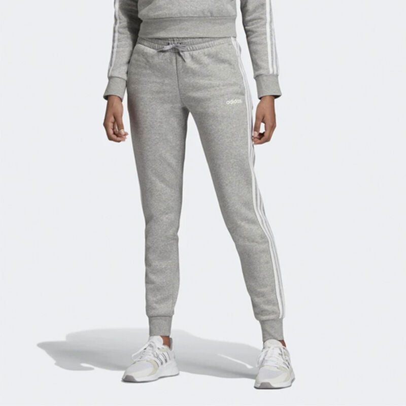 Women's Essentials 3-Stripes Jogger, Heather Gray, large image number 1