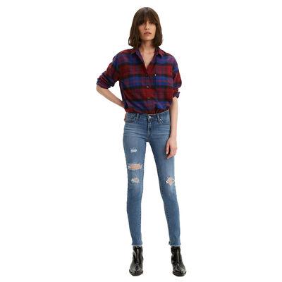 Levi's Women's 711 Skinny Hawaii Blue Jean