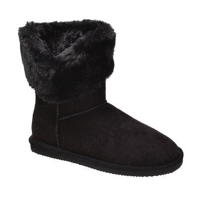 Apres Women's Microfiber Fur Collar Boots
