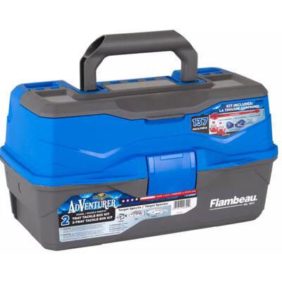 Flambeau Adventurer 2-Tray Tackle Box Kit