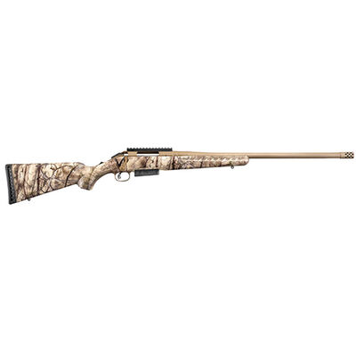Ruger American 450 Bushmaster Camo Bolt Action Rifle