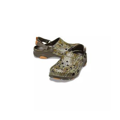 Crocs Men's Classic All-Terrain Mossy Oak Bottomland Camo Clogs