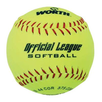 """Worth 12"""" Official League Slow Pitch Softball"""