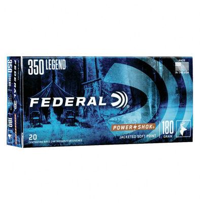 Federal .350 Legend PWR-HK 180GR Ammunition