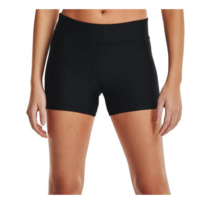 Under Armour Women's Heatgear Mid Rise Shorts