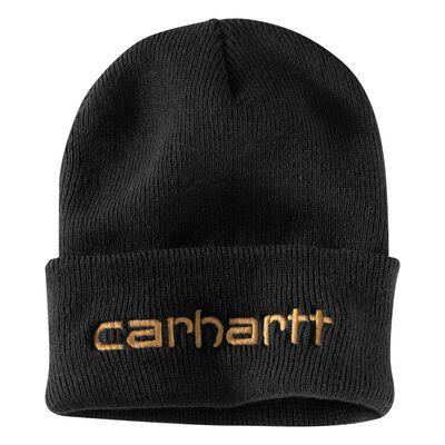 Carhartt Men's OFA Black Acrylic Teller Hat