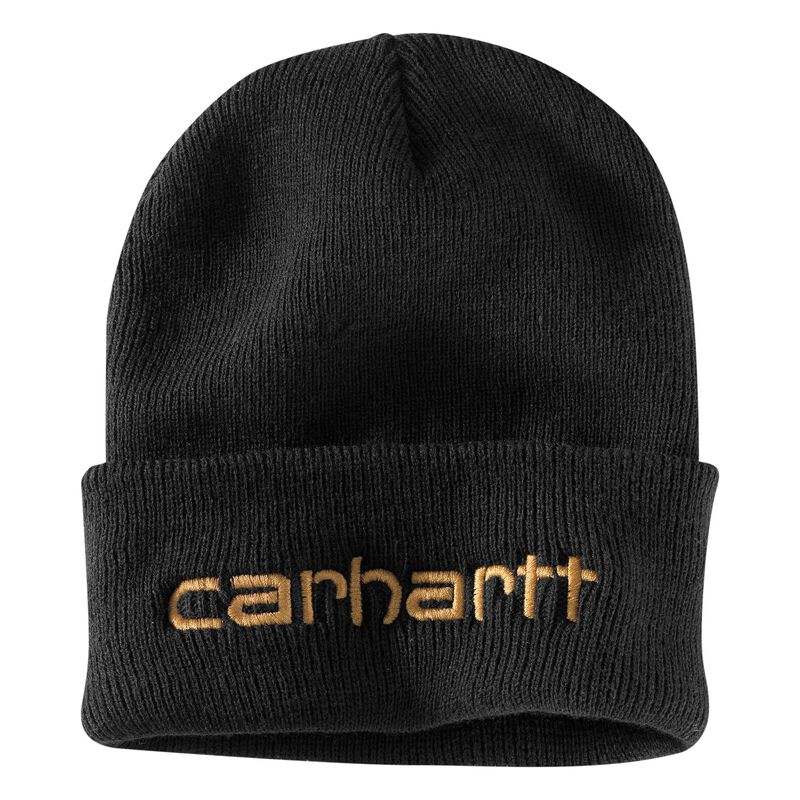 Men's OFA Black Acrylic Teller Hat, Black, large image number 0