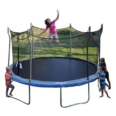 Propel 14' Trampoline with Fun-Ring Enclosure