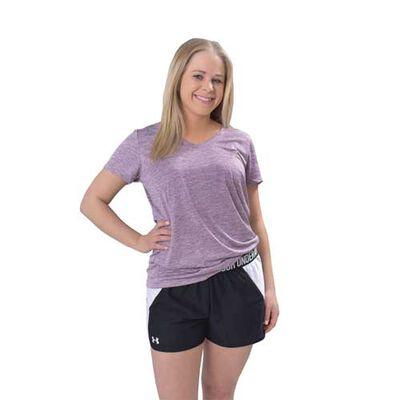 Under Armour Women's Short Sleeve Twist V-Neck Tech Tee