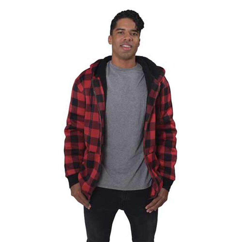 Men's Sherpa Lined Hoodie, , large image number 1