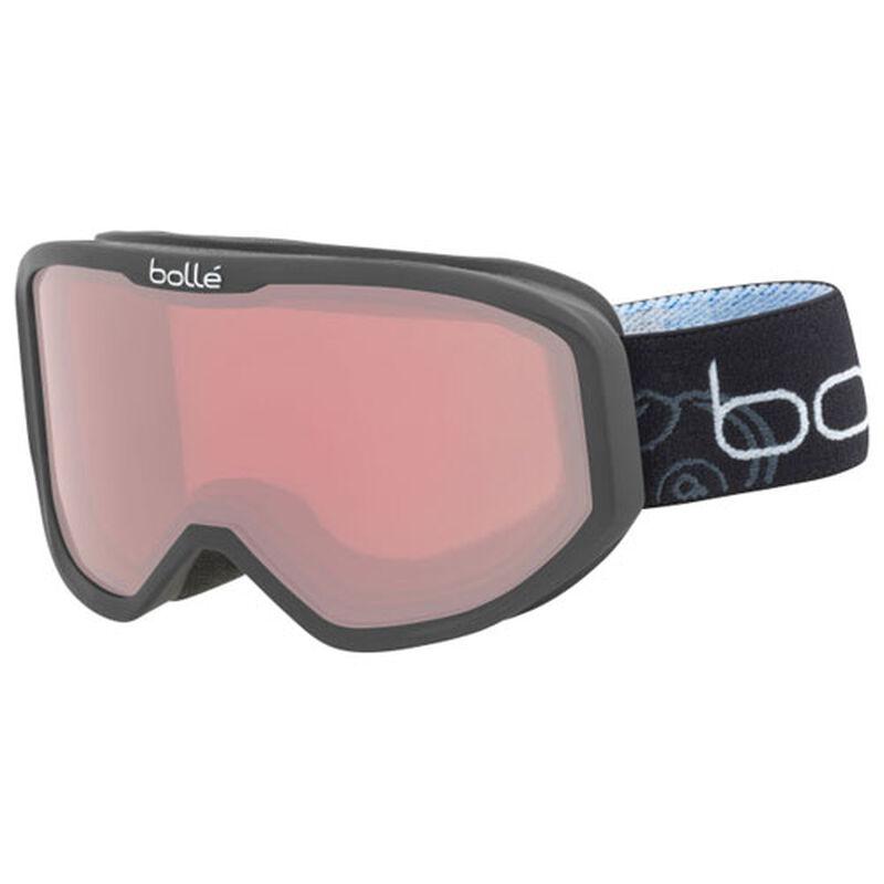 Kid's Inuk Ski Goggle, Black, large image number 0