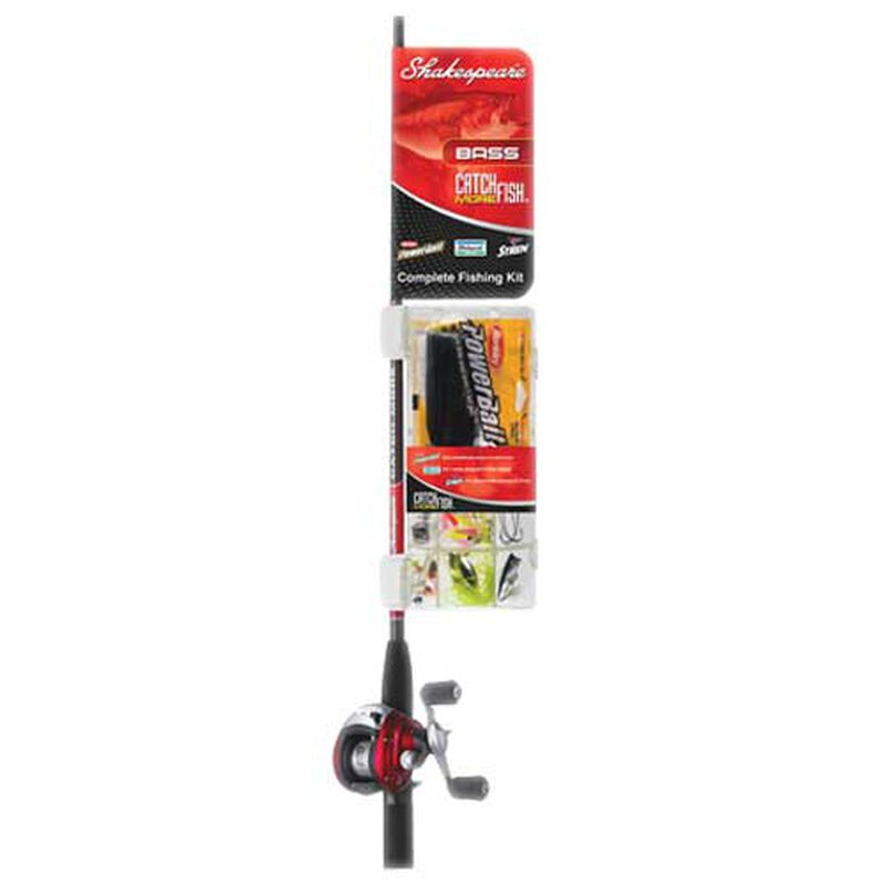 Catch More Fish Bass Spincast Combo, , large image number 0