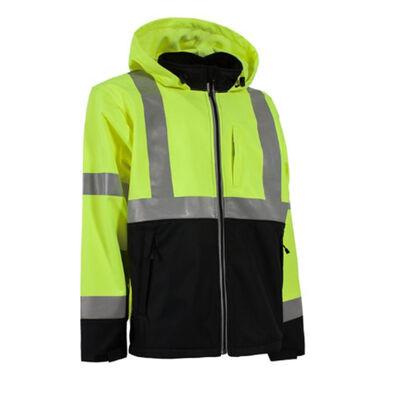 Berne Hi-Visibilty Softshell Jacket