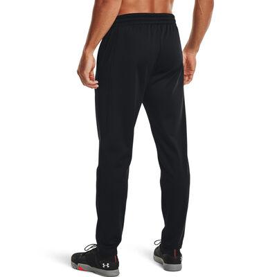 Men's Armour Fleece Pants, Black, large