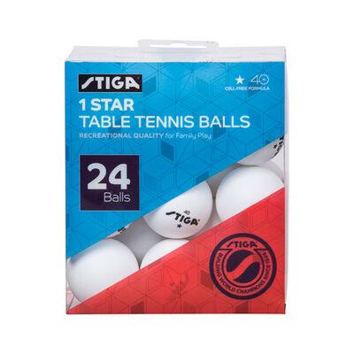 Stiga Table Tennis Balls 24-Pack
