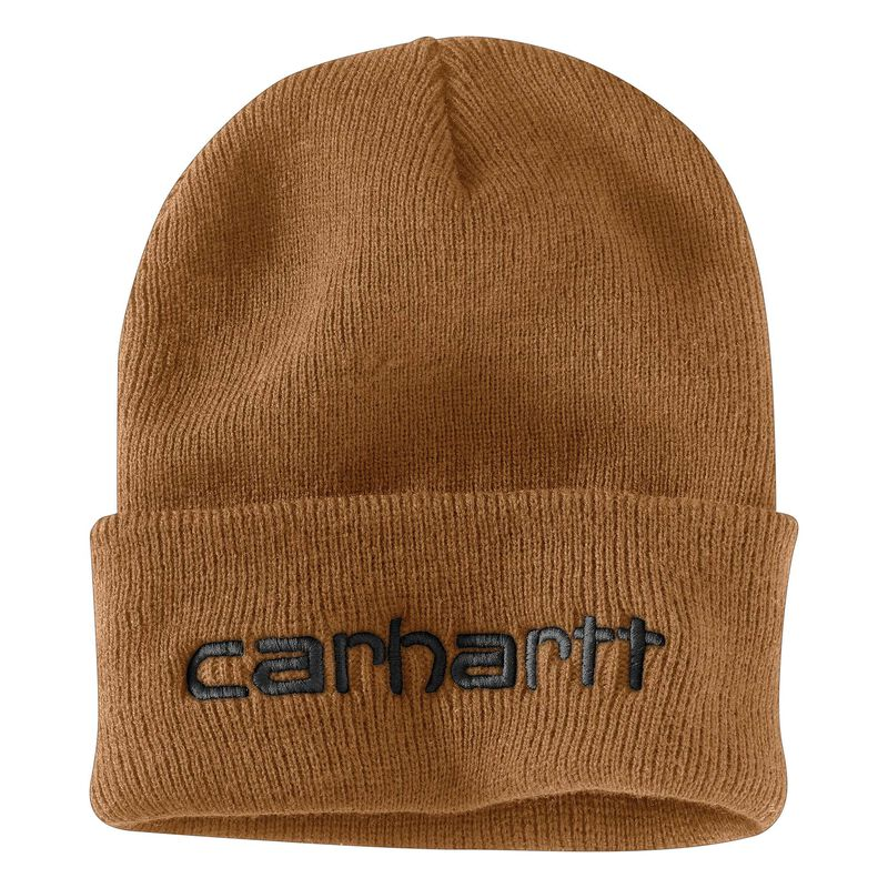 Men's OFA Black Acrylic Teller Hat, Brown, large image number 1