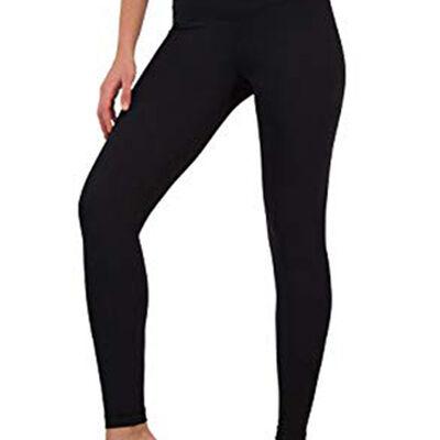 "Yogalicious Women's Tech High Rise 7"" Side Pocket Pants"