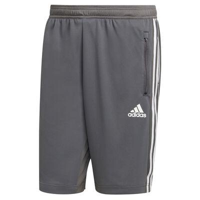 adidas Men's 3 Stripe Poly Interlock Shorts
