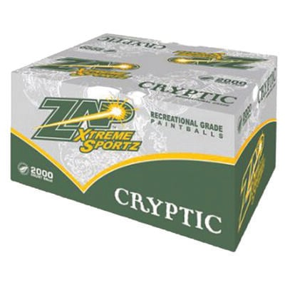 Cryptic 2000 Ct. Paintballs, , large
