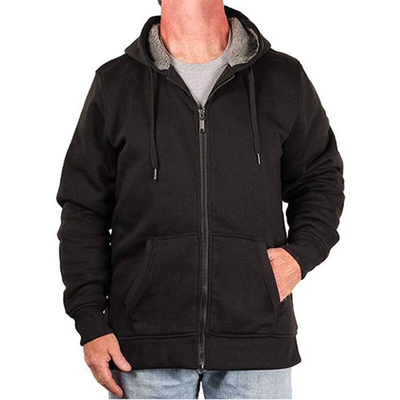 Men's Full Zip Sherpa Hoodie, , large image number 0