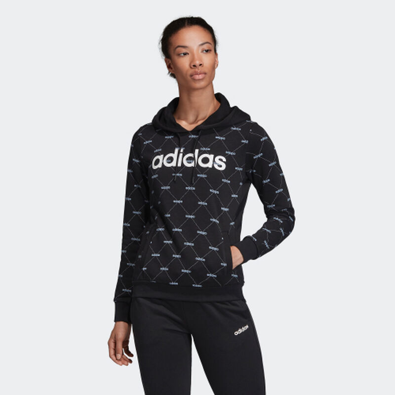 Women's Core Favorites Hoodie, Black, large image number 1