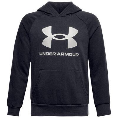 Under Armour Boys' Rival Big Logo Fleece Hoodie