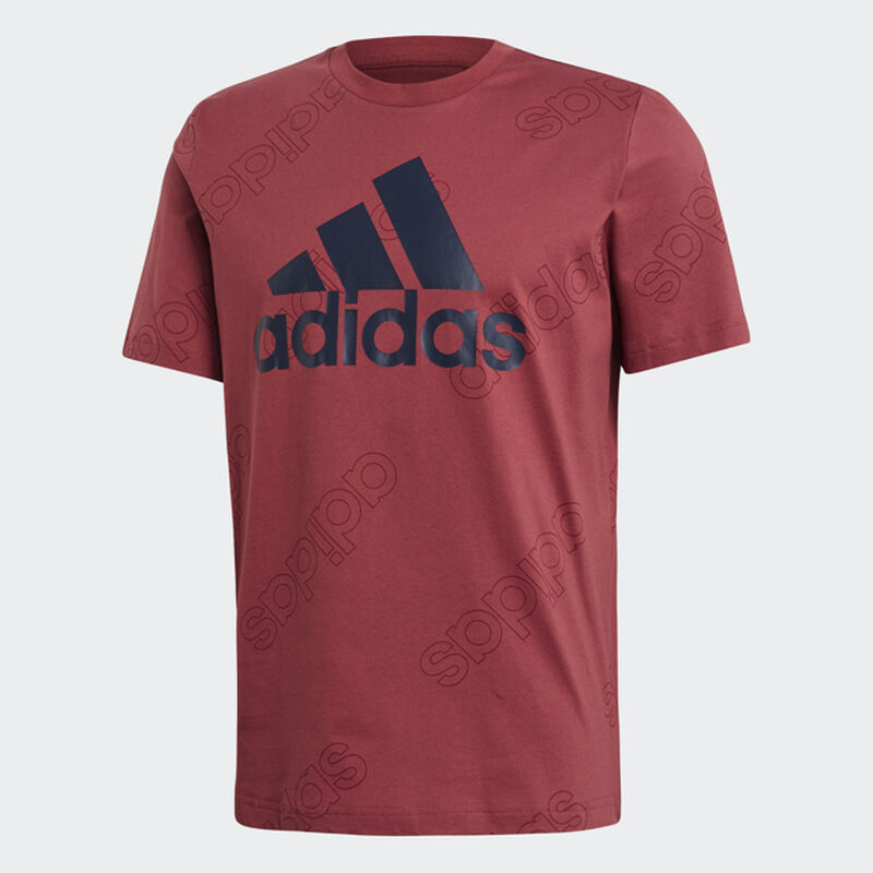 Men's Favorites Logo Short Sleeve Tee, Red, large image number 0