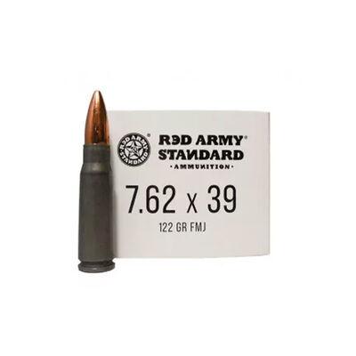 Red Army Standard 7.62X39MM 122 GR FMJ Steel Case